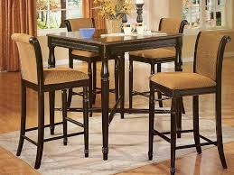 Image of: narrow kitchen table sets