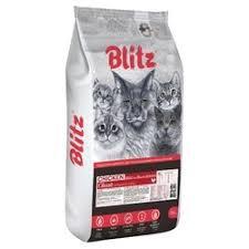 <b>Сухой корм Blitz</b> Adult Cats Chicken для кошек с курицей - 10 кг