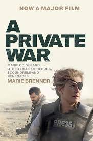A Private War - Brenner, Marie - Amazon.de: Bücher