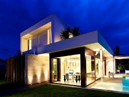 view modern house lights. Captivating Cool Small Waterfall For Swimming Pool Modern House Light Awesome Houses Maison Bolo To Build View Lights T