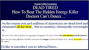 thrive it works adrena thrive review does it really works real truth