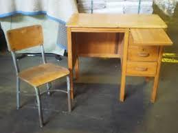 Vintage office desk Old Style Image Is Loading Vintageblondewoodmidcenturymodernchildrensschool Amazoncom Vintage Blonde Wood Mid Century Modern Childrens Schooloffice Desk