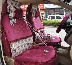 whole bow lace universal auto car seat cover set short velvet 19pcs pink car seat covers accessories s from chinese wholer idcte cn