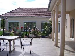 beau bungalow neuf à vendre sur 1 ha avec piscine intérieure creuse limousin moulin