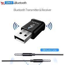 USB <b>Bluetooth 5.0 Receiver</b> Audio Transmitter For TV/PC ...