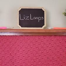 A shop for crocheted baby blankets & more by Liz by LizLoopsShop