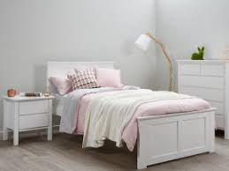 white teenage bedroom furniture. White King Single Size Bed Frame Modern Timber Childrens Beds-kids Bedroom Furniture; Teenage Furniture N