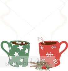 hot chocolate mug clipart. christmas mugs clipart hot chocolate mug