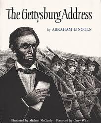 Image result for the Gettysburg Address,