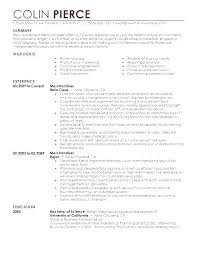 Visual Merchandising Resume Examples Best of Visual Merchandising Resume Sample Visual Merchandising Resume