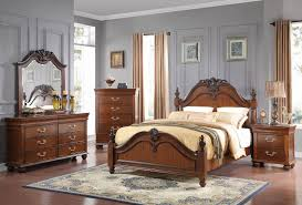 Set Of Bedroom Furniture Classic Furniture Jaquelyn Bedroom Set In Heritage Cherry B8651 Set