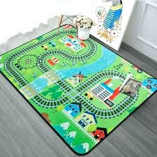 play rug with roads extra large baby playing crawling mat for bedroom kids childrens playroom rugs