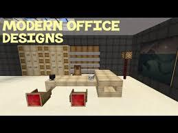 minecraft office ideas. Minecraft: Modern Office Designs Minecraft Ideas T