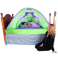 Toddler Tents For Beds Amazoncom Pacific Play Tents Kids Cottage Bed Tent Playhouse
