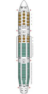 Airbus A340 500 Seating Chart Arik To Use Kingfisher A340 500 Interiors And Seating
