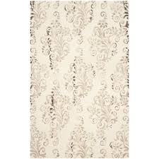 safavieh dip dye ivory taupe 8 ft x 10 ft area rug