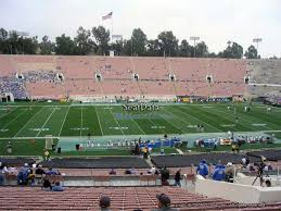 Rose Bowl Seating Chart Ucla Football Rose Bowl Stadium Section 18 Ucla Football Rateyourseats Com