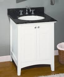 24 inch single sink shaker style bathroom vanity with choice of counter top uveib24w