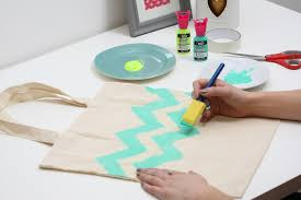 canvas material for painting inspirational how to fabric paint a tote bag hobbycraft blog