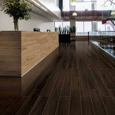dark wood tile flooring. Unique Dark Polished Dark Walnut Wood Effect Tiles  To Tile Flooring 7
