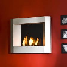nice wall mounted gel fireplace in sei contemporary wall mount gel fuel fireplace silver