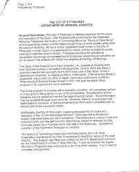 Buhl Planetarium--RFP Documents