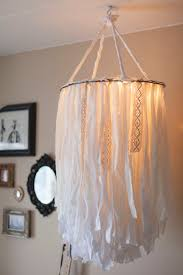 diy chandelier ideas and project tutorials cloth chandelier easy makeover tips rustic pipe