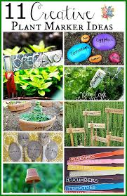 11 creative plant marker ideas there s no need to spend money on boring commercial garden