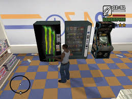 Vending Machine Mod Delectable GTA San Andreas Monster Energy Vending Machine Mod GTAinside