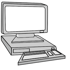 computer clipart black and white. Simple And Computer20clipart20black20and20white Intended Computer Clipart Black And White U