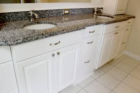 white bathroom cabinets with granite. bathroom cabinets wellhouse cabinetry. white painted granite with a