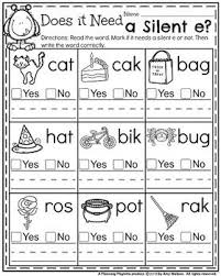 There are differences in opinion about whether using phonics is useful in teaching children to read. 1st Grade Math And Literacy Printables October First Grade Phonics First Grade Worksheets First Grade Reading