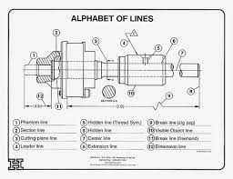 Drafting Wall Charts Set Of 4