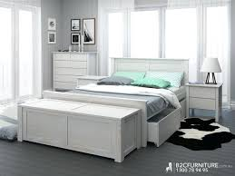 White Distressed Bedroom Furniture Distressed Bed Rustic White ...