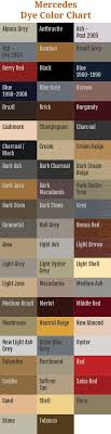 here for an alternate view of our mercedes leather dye color chart