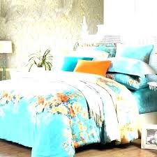 orange and white bedding post orange and white bedding blue sets black comforter teal king