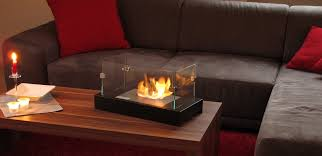 table fireplace mini models for a