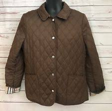 womens burberry quilted jacket   eBay & Womans Burberry London Quilted ( Diamond ) Jacket, Brown Size Medium  Regular Fit Adamdwight.com