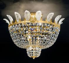 0173 16 gold chandelier asfour crystal