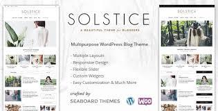 Solstice A Wordpress Shop Blog Theme By Seaboardthemes Themeforest