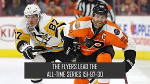 flyers vs penguins history photos penguins flyers matchup history wpxi