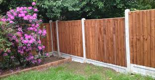 Garden Fencing Panel Installation London Essex AMC Paving