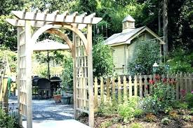 garden arch trellis gardenia oil home depot