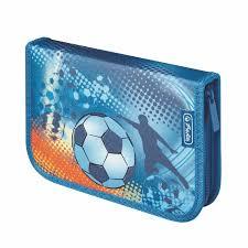 <b>Пенал Herlitz Soccer</b> (31 предмет) купить в Иркутске - интернет ...