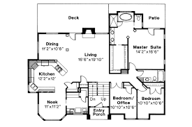 contemporary house plan lenox 30 066 1st floor plan