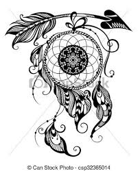 Aztec Dream Catcher Tattoo Indian dream catcher Tattoo dream catcher vector clip art 78