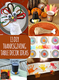 13 diy thanksgiving table decor ideas