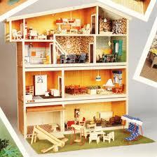 Denmarks Hanse And Lisa Dollhouses By Valérie Braun English - Dolls house interior