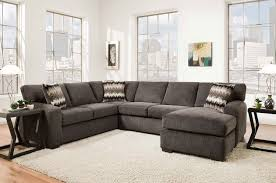 living room furniture fenella 2 piece right facing sectional smoke