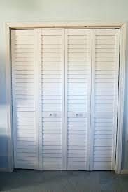 louvered bifold closet doors. Slat Closet Doors White Louvered Update Bifold S